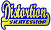 Logo Distortion Skateshop - Vallenar