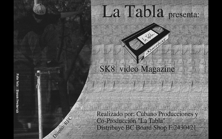 LA TABLA SUENOS 1995 - 1er Video