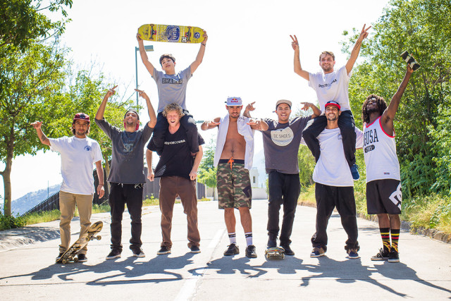 Dc Shoes Global Team Skate Demo - Chile