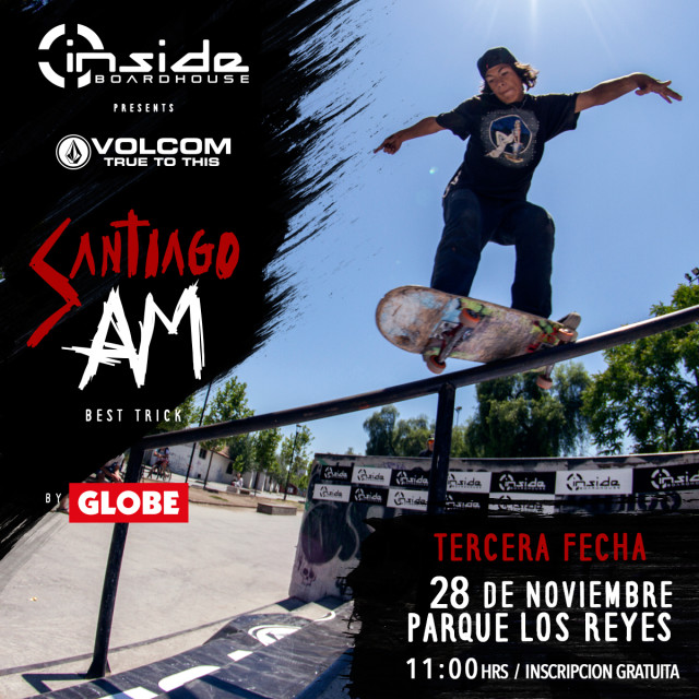 Volcom Am by Globe - 2da Fecha - Parque Ohiggins