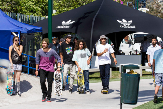 adidas skateboarding Chile - Boost The Bar Tour - Ready-to-push