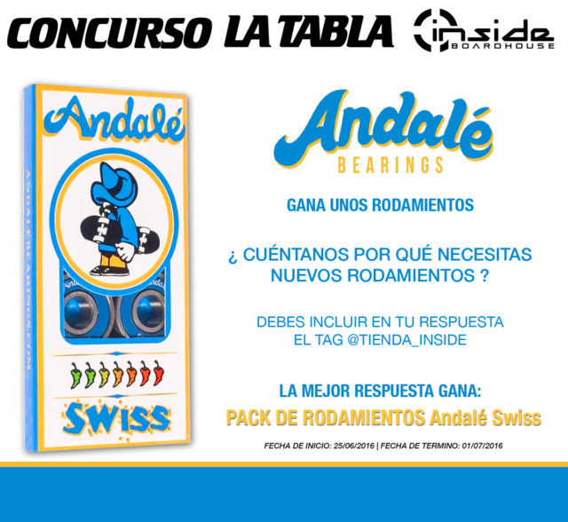 Concurso LA TABLA y Inside Boardshop - Junio 2016