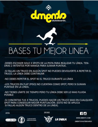 Dments Skateboards - Tu Mejor Linea - Bases