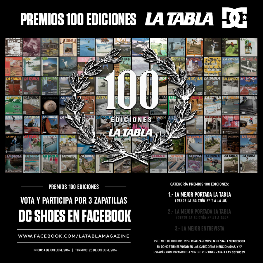 Premios 100 Ediciones LA TABLA DC SHOES 1