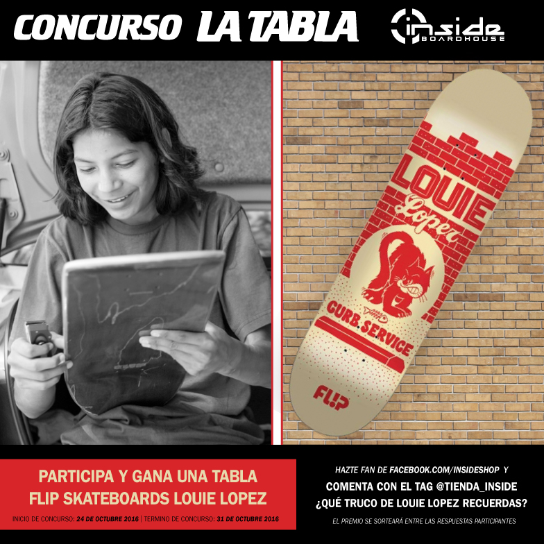Concurso La Tabla - Maui & Sons - Flip Skateboards - Inside Boarshop - Octubre 2016