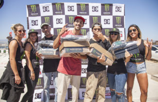 Monster Energy Rey de Reyes On Tour 2017 - Quintero - presentado por Dc Shoes