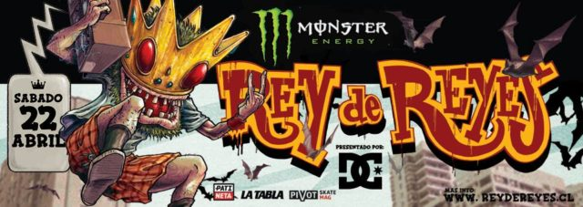 Monster Energy Rey de Reyes by Dc Shoes 2017