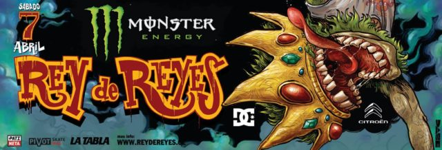 Monster Energy Rey de Reyes by Dc Shoes y Citroen 2018