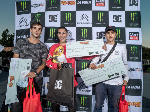 Monster Energy Rey de Reyes by Dc Shoes y Citroen 2018 - Podio Street