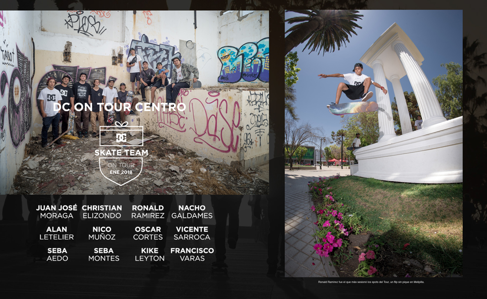 LA TABLA 109 - Dc Shoes Chile On Tour Centro