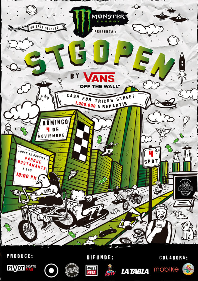 STGO OPEN by Vans 2018