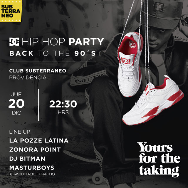 DC Shoes Chile - Hip Hop Party Back To 90s