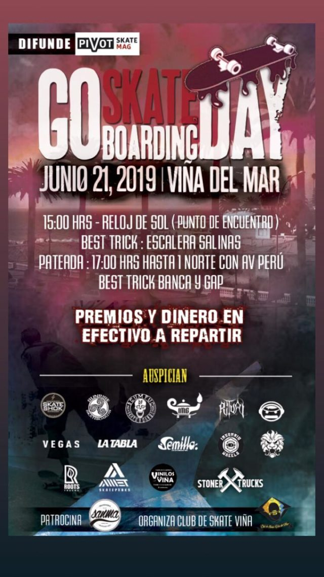 Go Skateboarding Day - Viña del Mar 2019
