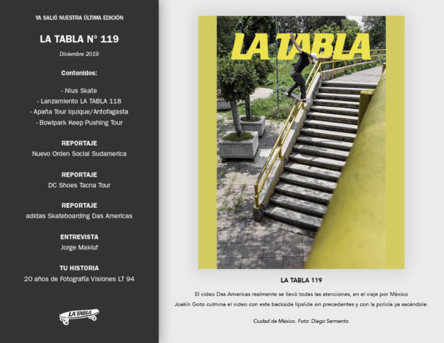 Newsletter LA TABLA 119