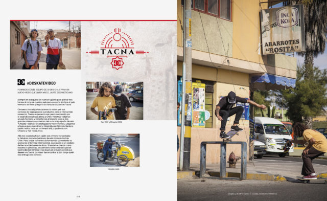 LA TABLA 119 - DC SKATE VIDEO - TACNA