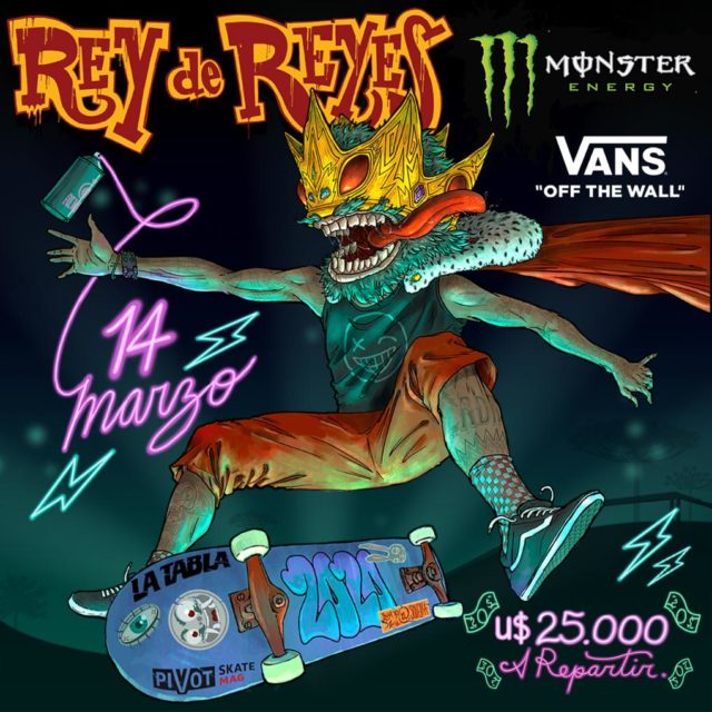Monster Energy Rey De Reyes by VANS 2020